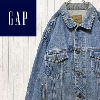 ギャップ(GAP)のGAP DENIM デニム Gジャン 色落ち ビッグサイズ ギャップ(Gジャン/デニムジャケット)