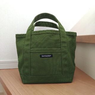 marimekko - マリメッコ ミニトートバッグ 限定色 グリーン
