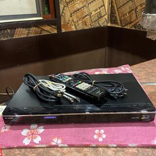 SHARP - SHARP BD-HDW75 HDD/BD 2番組W録 500GBリモ等フル装備