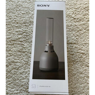SONY - 新品 ソニー SONY グラスサウンドスピーカー LSPX-S3 保証書付き