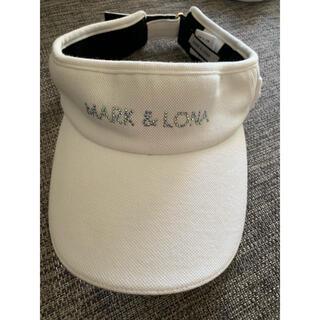 マークアンドロナ(MARK&LONA)のマークアンドロナ  サンバイザー(サンバイザー)