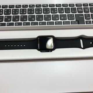 アップルウォッチ(Apple Watch)のApple Watch3 38mmアップルウォッチ 97%美品(腕時計(デジタル))