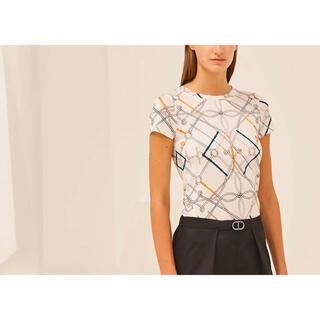 エルメス(Hermes)の2021ss エルメス マイクロ プリント Tシャツ《完璧なコース》(Tシャツ(半袖/袖なし))