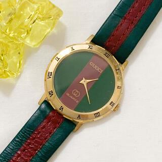 Gucci - 【稼働品】GUCCI◆シェリーライン 腕時計