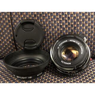 LEICA - 1555o Minolta M-ROKKOR 40mm F2 Leica M
