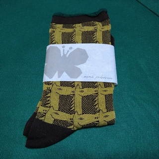 mina perhonen - ●新品 ●レア ●完売品 ミナペルホネン throughbred ソックス 靴下
