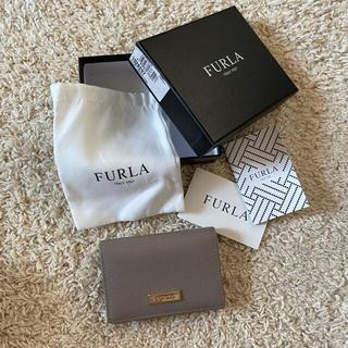 フルラ(Furla)のFURLA名刺入れカードケース証明書あり(名刺入れ/定期入れ)
