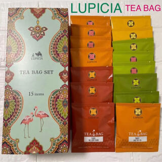 LUPICIA - 新品未使用 ルピシア 人気のお茶ティーバッグセット15種 LUPICIA