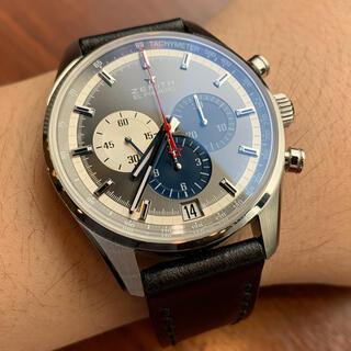ゼニス(ZENITH)のゼニス エルプリメロ クロノマスター ZENITH(腕時計(アナログ))