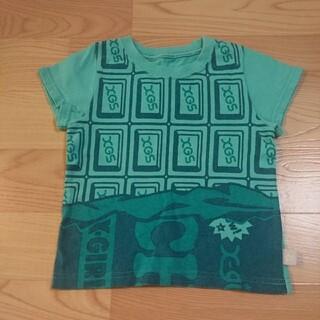 エックスガールステージス(X-girl Stages)のX-girl stages size4T(100)エックスガール 半袖Tシャツ(Tシャツ/カットソー)