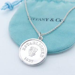 Tiffany & Co. - ヴィンテージ ティファニー 時計 旧ロゴ リバーシブル ネックレス DD68