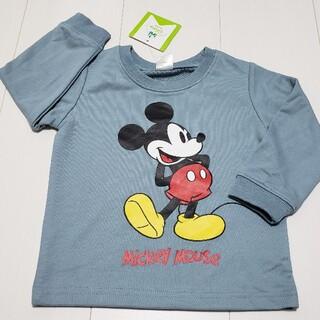 ミッキーマウス(ミッキーマウス)の新品タグ付きミッキーマウス薄手トレーナー90センチ③ディズニー(Tシャツ/カットソー)