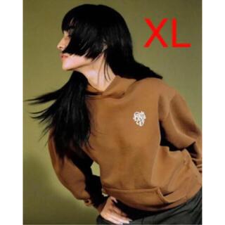 GDC - girls don't cry パーカー XL ブラウン