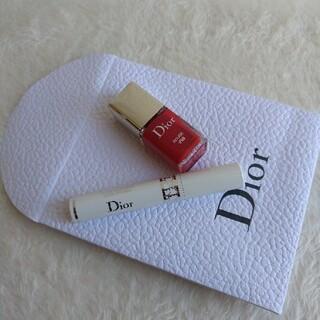 ディオール(Dior)の◎新品未使用品 Dior ディオールショウ ベースマスカラ1.5ml ヴェルニ(マスカラ下地/トップコート)