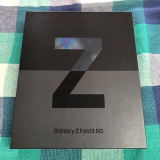 Galaxy - 新品・Galaxy Z Fold3 5G Black 256GB SIMフリー