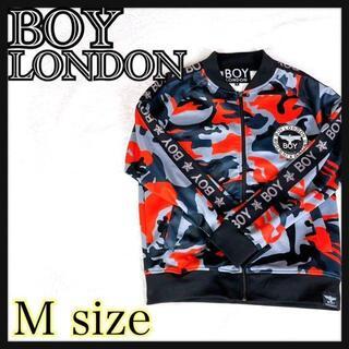 Boy London - BOY LONDON ボーイロンドン ブルゾン スタジャン 総柄 ゆるダボ