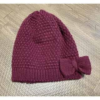 エイチアンドエム(H&M)のニット帽 帽子 ベビー キッズ 女の子 1歳半〜4歳(帽子)