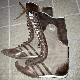 アディダス(adidas)のアディダス ブーツ 25cm(ブーツ)