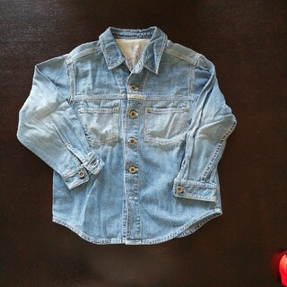 バツ(BA-TSU)のデニムシャツ(Tシャツ/カットソー)