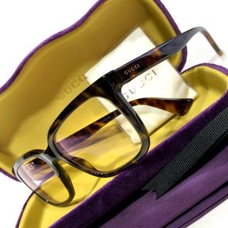Gucci - グッチ 度付きメガネ セルフレーム 蜂 鼈甲/グッチ 眼鏡 度付き 蜂