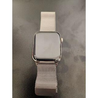 アップルウォッチ(Apple Watch)のApple Watch Series 6 44mm シルバーステンレススチール(腕時計(デジタル))