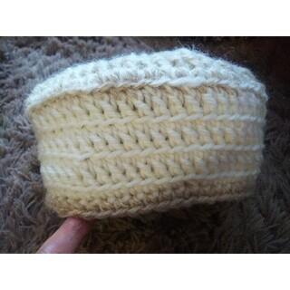 手編み 帽子(帽子)