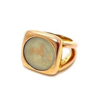 Hermes - エルメス コロゾ ヴィンテージ リング・指輪 ゴールド