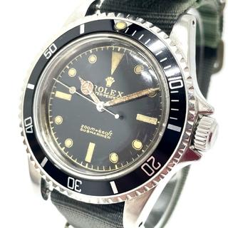 ROLEX - ロレックス 5513 サブマリーナ アンティーク ノンデイト メンズ腕時計