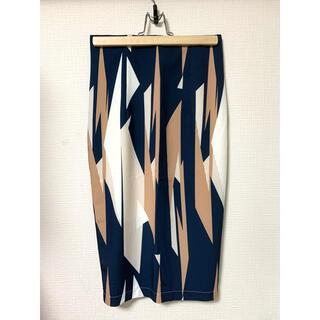 eimy istoire - 新品未使用 幾何学模様タイトスカート