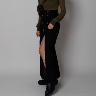 Ameri VINTAGE - aclent High waist wrapping skirt