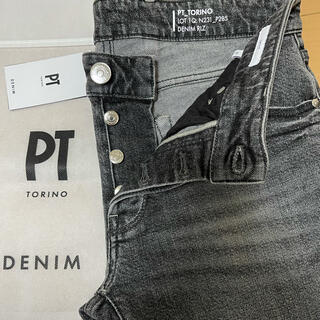 PT05 - 新品未使用 PT TORINO DENIM PTトリノ ブラックデニム