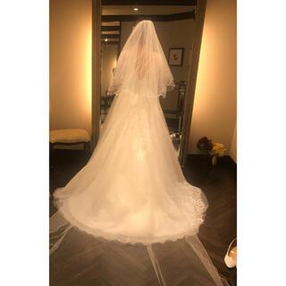 タカミ(TAKAMI)のTAKAMI BRIDAL  ロングベール   1度数時間着用のみ(ヘッドドレス/ドレス)