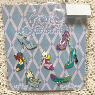 Disney - WDW ディズニー プリンセス ヒール パンプス シューズ ピン セット