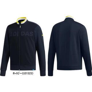 adidas - アディダス メンズ ゴルフ 長袖トレーナー フルジップスウエット U31323