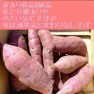 サツマイモ 紅はるかB級品 訳あり箱入10キロ細長 特大 3S.極S曲がり