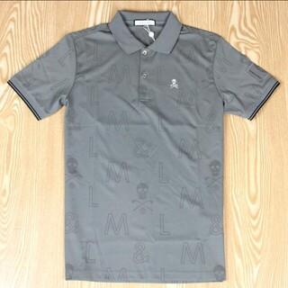 マークアンドロナ(MARK&LONA)の新作 シャツ MARK&LONA(マーク&ロナ)   半袖ポロシャツ Mグレー(ウエア)