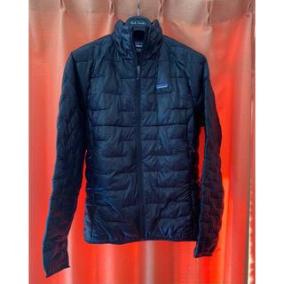 パタゴニア(patagonia)の極美品パタゴニア  マイクロパフ ジャケット 黒 Sサイズ(ダウンジャケット)