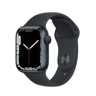 アップルウォッチ(Apple Watch)のApple Watch 7 GPSモデル 45mm ミッドナイト 新品未開封(腕時計(デジタル))