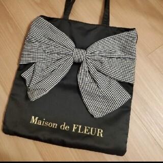 Maison de FLEUR - メゾンドフルール♡リボントートバッグ