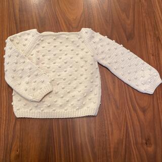 ロンハーマン(Ron Herman)の美品 MISHA&PUFF ポップコーンセーター 2-3y(ニット)