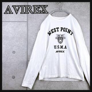 アヴィレックス(AVIREX)のAVIREX アヴィレックス 長袖 Tシャツ ロンT プリント(Tシャツ/カットソー(七分/長袖))