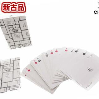 シャネル(CHANEL)の【新品】CHANEL ノベルティ トランプ カードゲーム No.5 コスメ柄(トランプ/UNO)