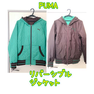 プーマ(PUMA)のプーマ  PUMA ジャケット リバーシブル メンズMサイズ(ダウンジャケット)