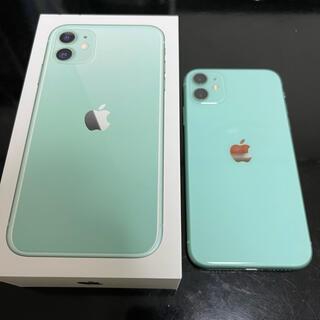 iPhone - ☆iPhone11☆グリーン☆64GB☆美品☆SIMロックなし☆