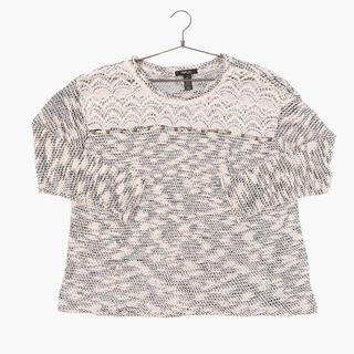 アメリヴィンテージ(Ameri VINTAGE)のvintage zebra kint sweater sullen(ニット/セーター)