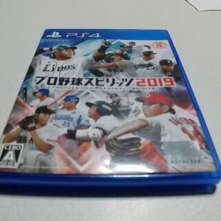 PlayStation4 - プレステ4 プロ野球スピリッツ2019