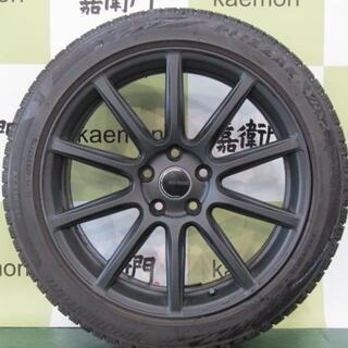 フォルクスワーゲン(Volkswagen)のブリヂストン製 エコフォルム CRS131 ナチュラルブラック 4本セット(タイヤ・ホイールセット)