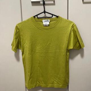 エルメス(Hermes)のエルメス 若草色 Tシャツ(Tシャツ(半袖/袖なし))
