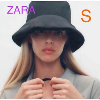 ZARA - 新品未使用 ZARA キルティングバケットハット 帽子 キャップ
