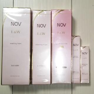 ノブ(NOV)のNOV ノブ L&W クレンジング 洗顔料 化粧水 アイクリーム 美白クリーム(化粧水/ローション)